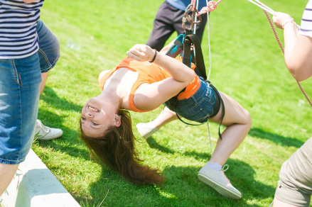 На летних мероприятиях часто открываются новые таланты :)